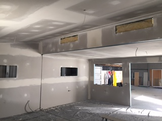 Raked Ceiling Portable Building